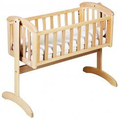 Troll Nursery Nicole Swinging Crib | Troll at W H Watts Pram Shop