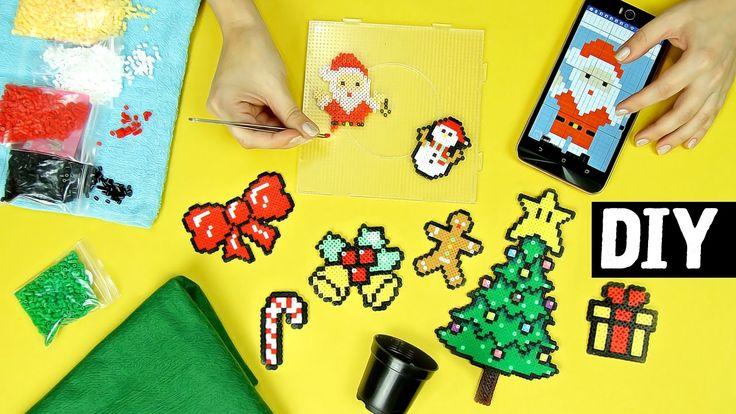 DIY Especial de Natal #1 ⛄ Guirlanda + Mini Arvore + Enfeite