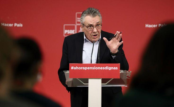 El PSOE urge al Gobierno a dar una solución a los pensionistas