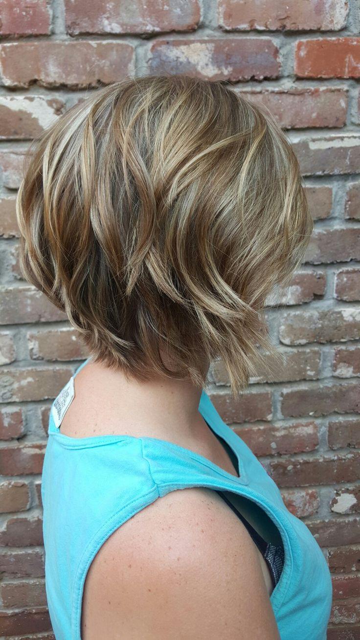 Lots of layers. Sassy short haircut                                                                                                                                                                                 More