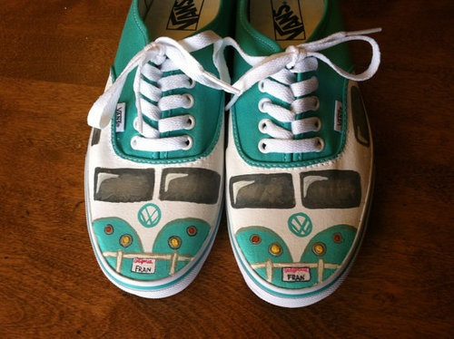 VW Vans....I want em in Converse... Hmmm...maybe Toms