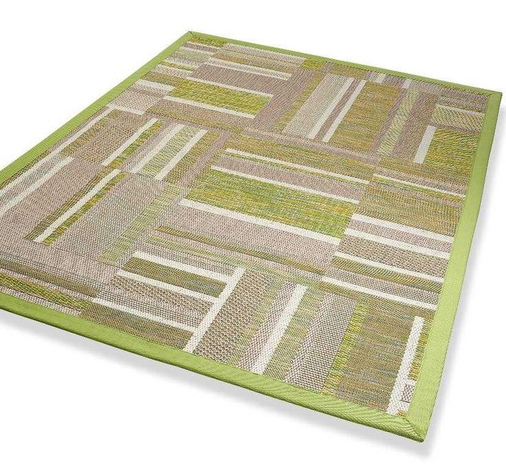 DeKowe Naturino Patchwork Green Bespoke Rugs | Modern Rugs