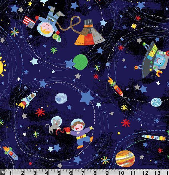 P Textiles Jill McDonald Out of this World