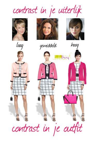 Zo maak je contrast in je outfit. Klik op de foto voor meer details | www.lidathiry.nl | het jurkje is van #claudiasträter