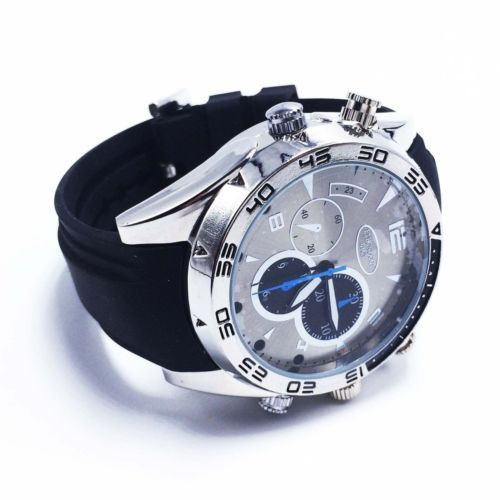 Quality 8GB 1080P HD Waterproof Spy Watch Camera Hidden Cam with IR Night Vision