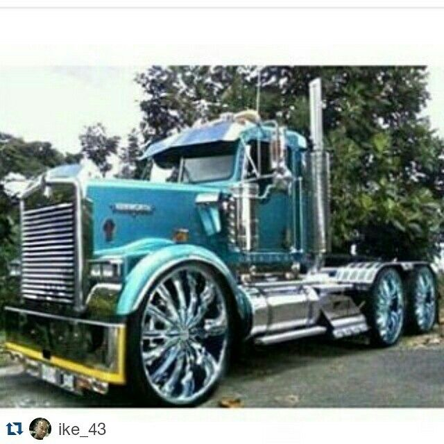 Big Rig Rod : Best images about big rigs on pinterest semi trucks