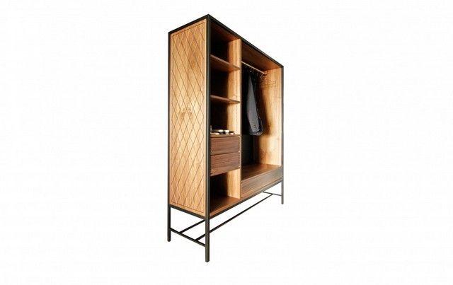 La collection Penthouse par Dyer-Smith Frey, appartement de luxe, gratte-ciel, Hard Turm Park, collection de meubles, matériaux simples, boi...