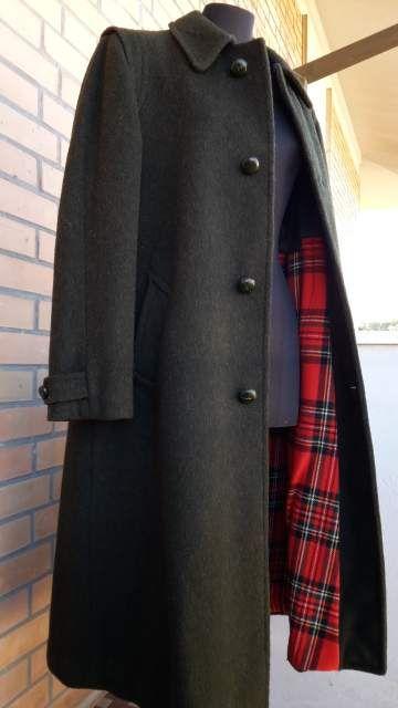 Loden cappotto donna pura lana 42/44