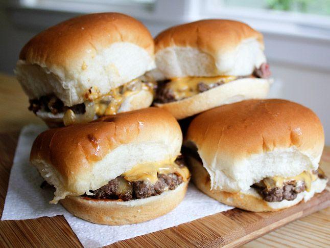 Diner Style Cheeseburger Sliders