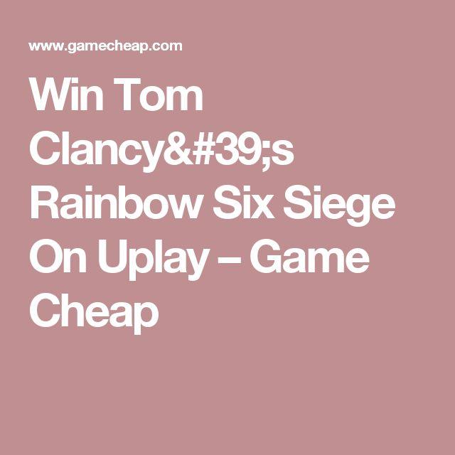 Win Tom Clancy's Rainbow Six Siege On Uplay – Game Cheap
