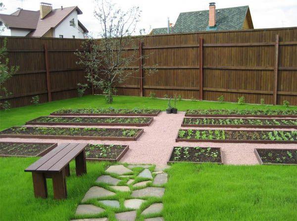 Садовые дорожки из щебня: просто, практично, красиво