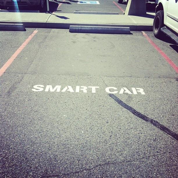 Instagram photo by @samanthapreziosi. #smartcar #likeaboss