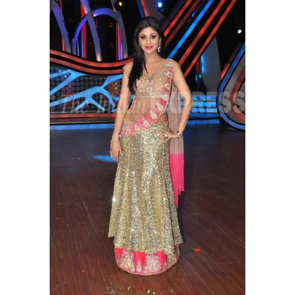 Shilpa Shetty in Dazzling Lahenga At Nach Baliye Finale Reference: BTS130074 See more details here: http://btownshades.com/index.php?id_product=155&controller=product