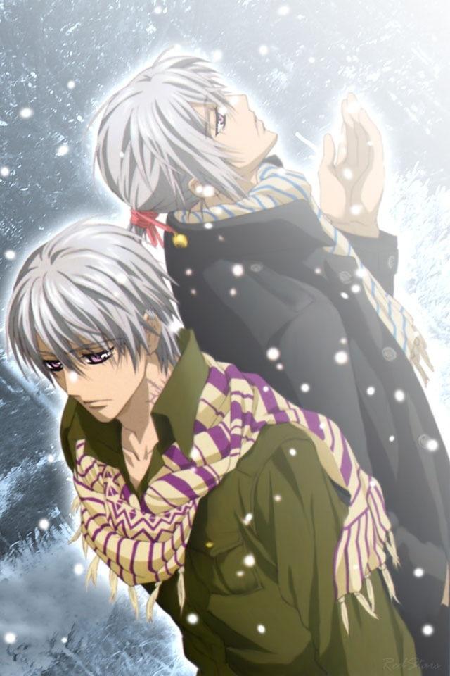 Zero and Ichiru Kiryu ...