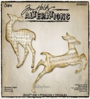 Bilde av produkt: Tim Holtz Alterations: Bigz Die - Reindeer Flight