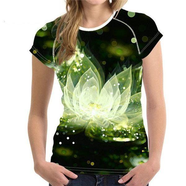 Pretty half sleeve Floral T Shirt for Woman s-xxL – Lifestyleshopee.com
