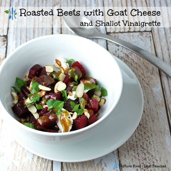 Roasted Beets with Goat Cheese | Recipe | Vegetables ...
