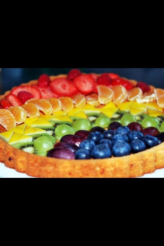 Une tarte gourmande