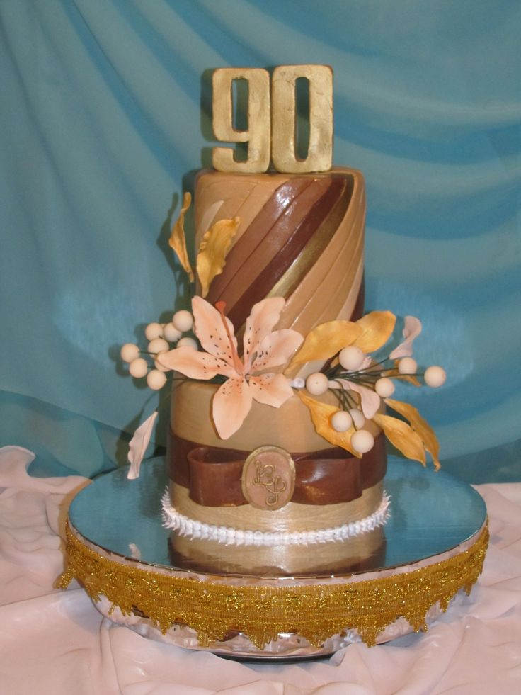 cake, торт на 90-летний юбилей мужчины