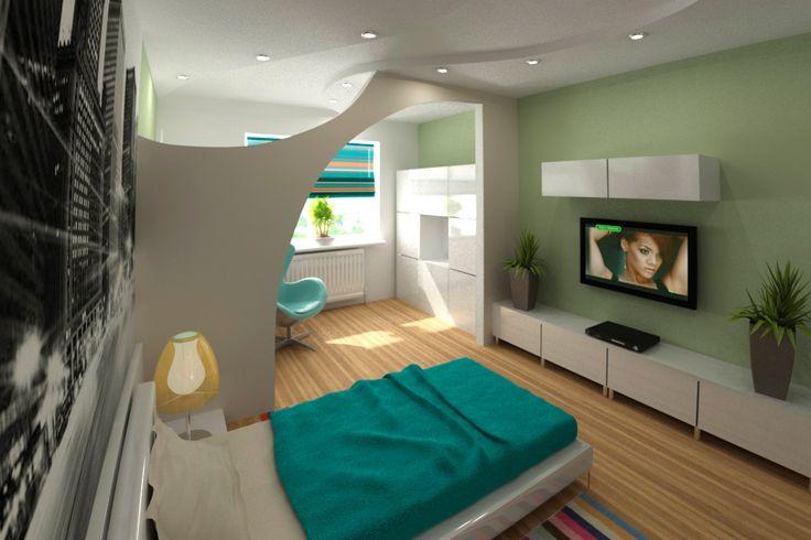 Дизайн однокомнатной квартиры 30 кв. м. Фото дизайна интерьера однокомнатных квартир   Ремонт квартир.me