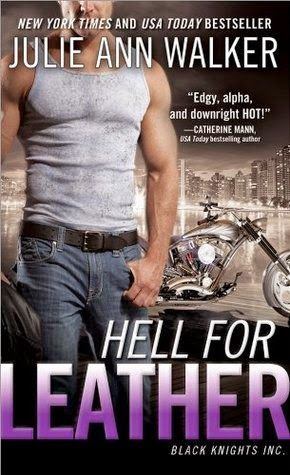 Hell for Leather by Julie Ann Walker (Black Knights Inc. #6)  Looks like Black Knights Inc. is filling up with amazing woman and fabulous pets to complement the uber alpha males and their hot bikes.   http://tometender.blogspot.com/2014/04/hell-for-leather-by-julie-ann-walker.html