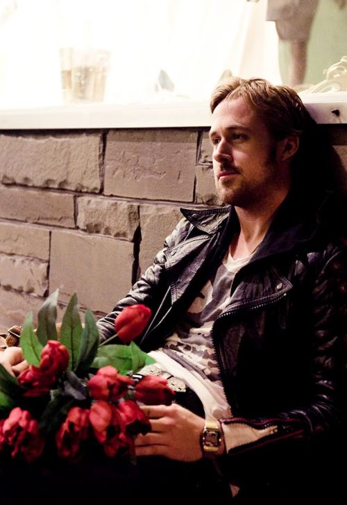 Ryan Gosling waiting for me to get home...*sigh*...a girl can dream, can't she?!