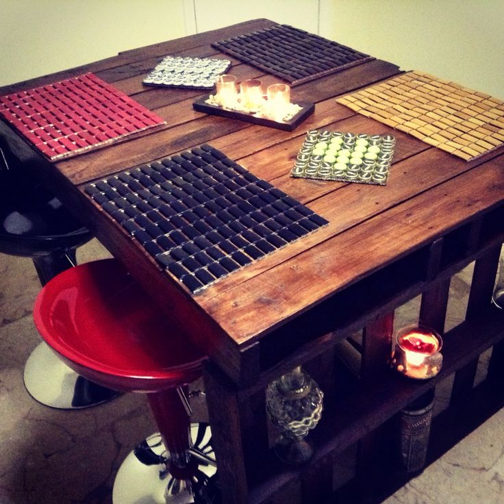 Pallet table - design by Raul Duarte