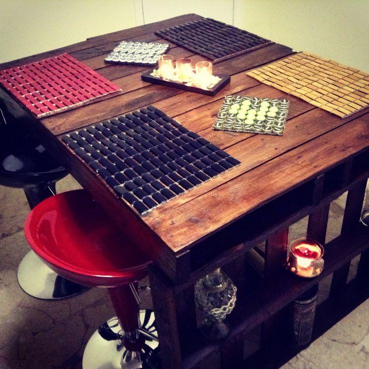 Pallet table - design by Raul Duarte