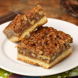 Pecan Bars that are so good people offer to pay me for them,