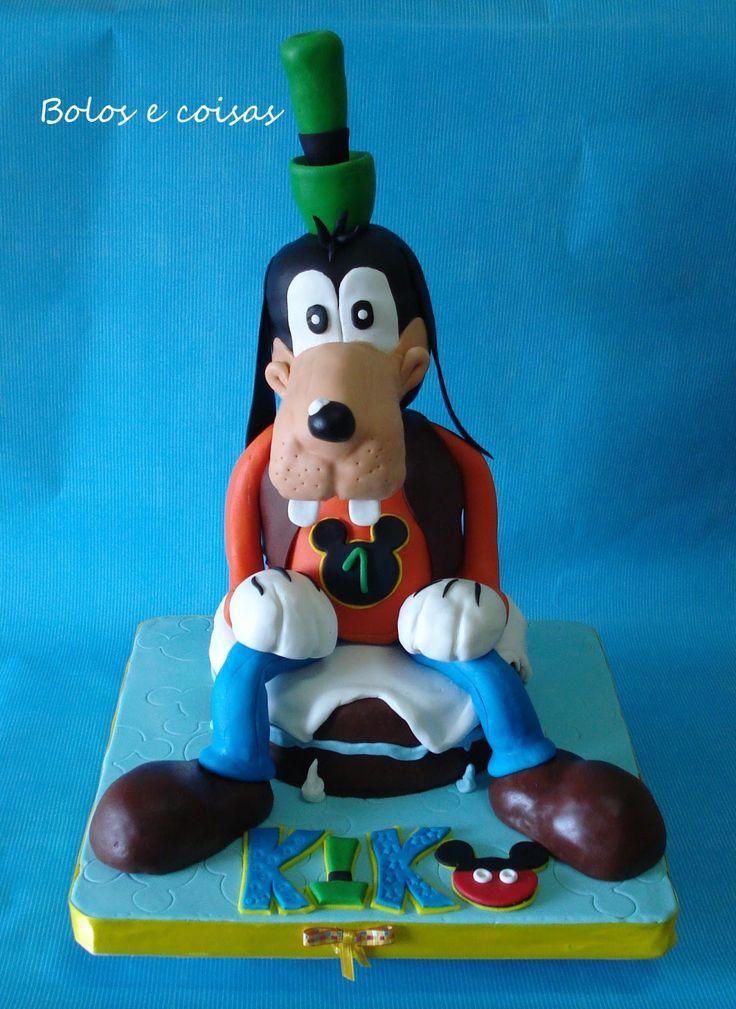 Bolos e coisas - Bolos decorados (Cake Design): Um Pateta para o Kiko * Goofy
