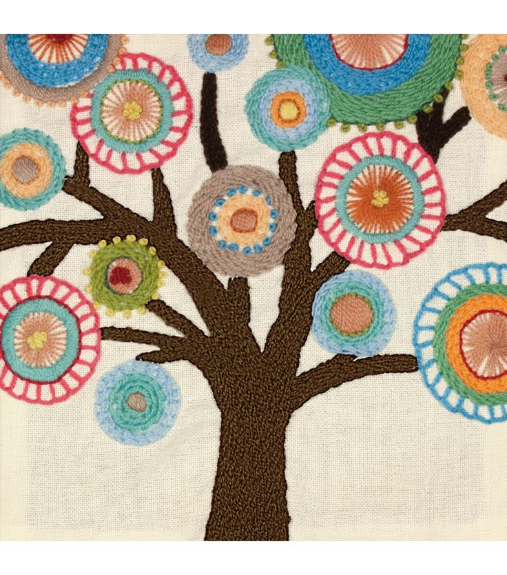Dimensions Handmade Collection Crewel Embroidery Kit TreeDimensions Handmade Collection Crewel Embroidery Kit Tree,