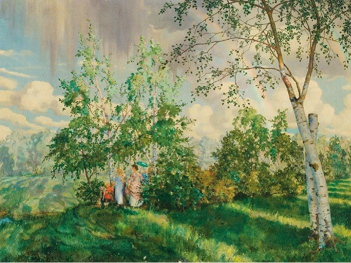 Константин Сомов (1869-1939)   «Радуга» (1927) — около $ 6,3 млн