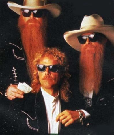 ZZ Top - Oh my.....saw these guys several times back in the day and then again in 2011.....they still rocked the house. So freaking good!