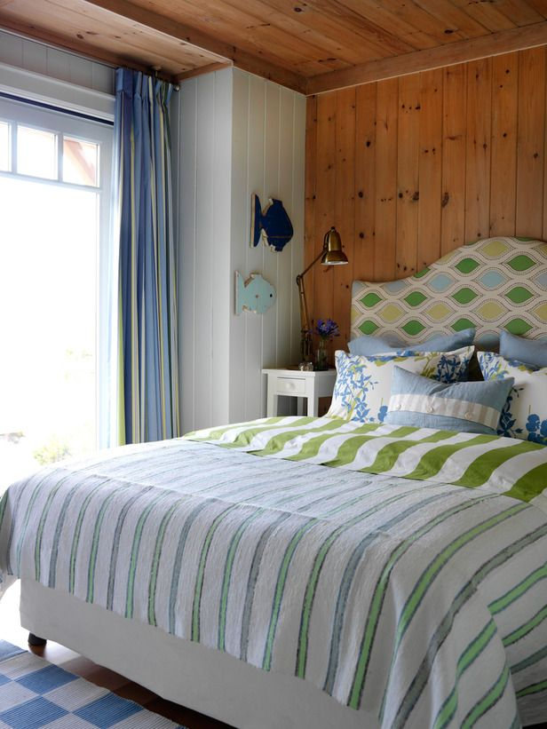 Guest Bedroom in Sarah Richardson's Summer House