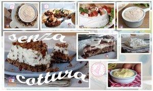 RICETTE SENZA COTTURA - ALLACCIATE IL GREMBIULE