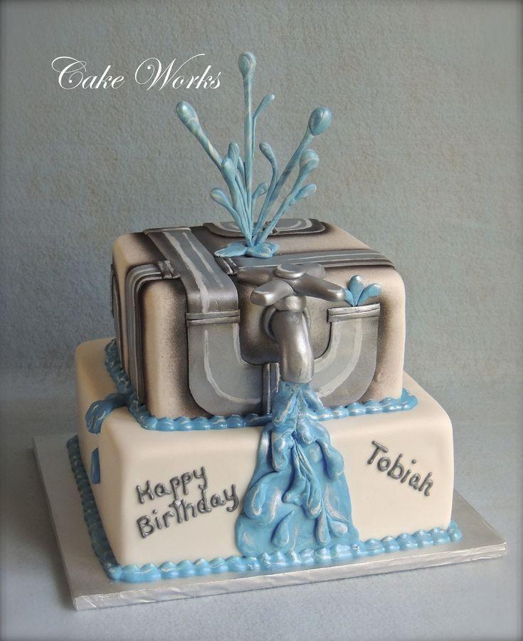 29 Best Cake---Plumber Images On Pinterest