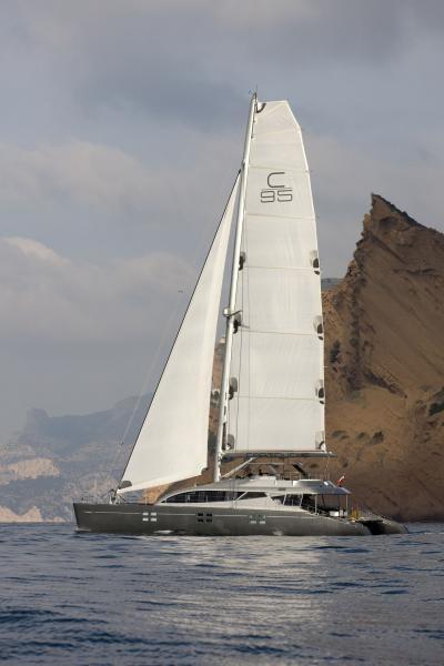 This is my catamaran yacht