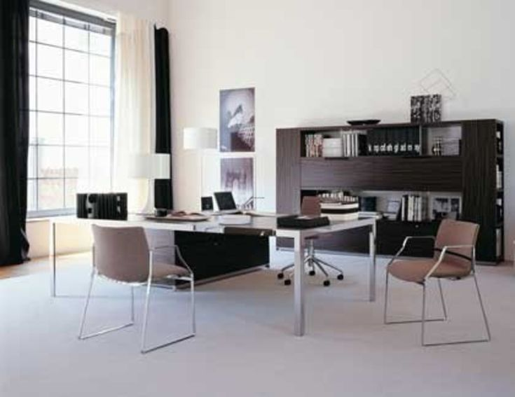 Plain Executive Office Modern Interior Design Home Furniture Twitter Plans By Simple L In Inspiration