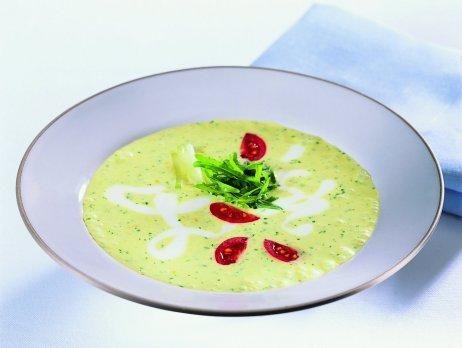 Kalte Rucola-Joghurt Suppe mit Gurke und 87.000 weitere Rezepte entdecken auf DasKochrezept.de