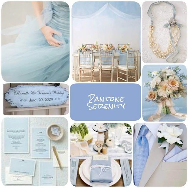 Pantone Serenity Wedding | Found for you by www.astrabridal.co.nz |: