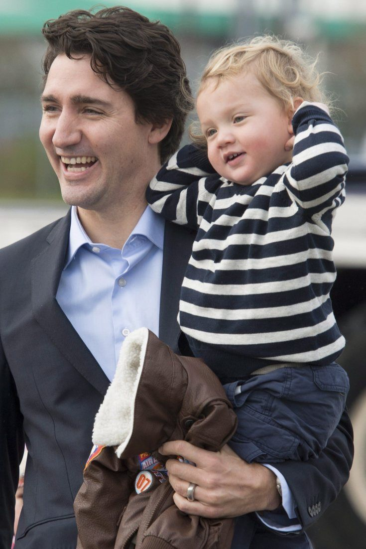 Justin Trudeau Kids: We Could Look At Photos Of Hadrien All Day