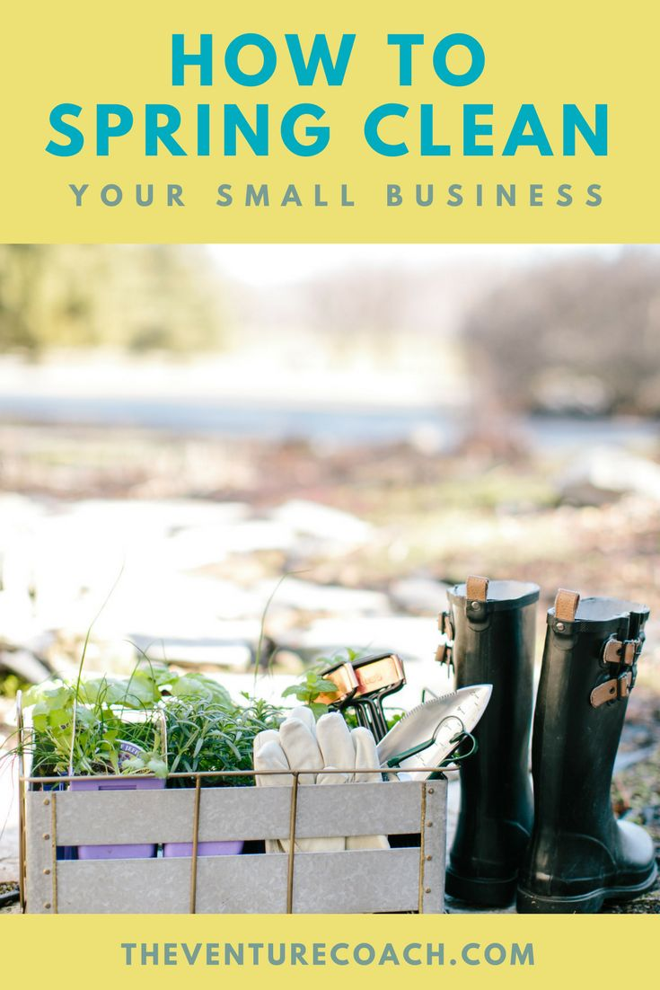 Do you clean out your closet in spring? If yes, then why don't you spring clean your business? #Business tend to get cluttered like our closets, we tend to keep unproductive products or services, but we don't have to! // The Venture Coach