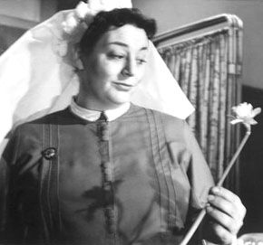 """Hattie Jacques - star of many """"Carry On"""" films, married to John Le Mesurier."""