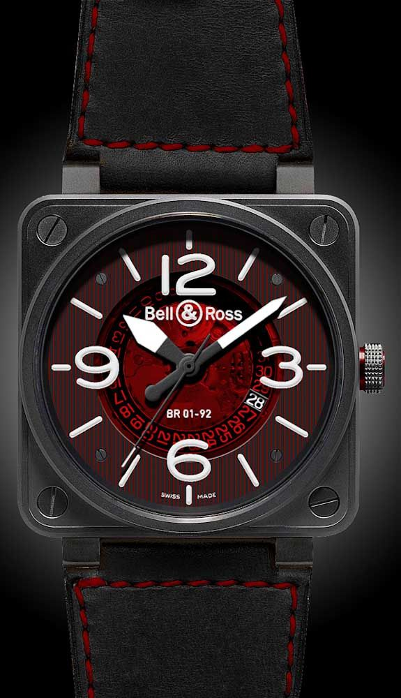 Fetishes? I has 'em. Wristwatches and man bags. I'll admit it. Here's a spectacular watch by Bell & Ross, one of my favorite brands, as most of their style is based on aviation panel instruments...and there is still a lot of sailplane pilot in me.