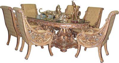 Mebel dan Furniture Jepara: Dinningf Table Natusi