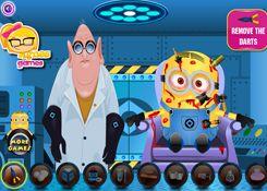 JuegosdeMinion.com - Juego: Minion Emergency - Jugar Juegos Gratis Online Flash