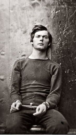 Lewis Powell, involved in the conspiracy to murder Abraham Lincoln. http://www.albumworks.com.au/telling-our-stories-1