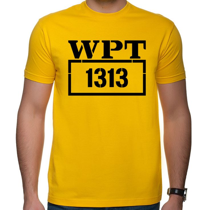 Zmiennicy WPT 1313 koszulka