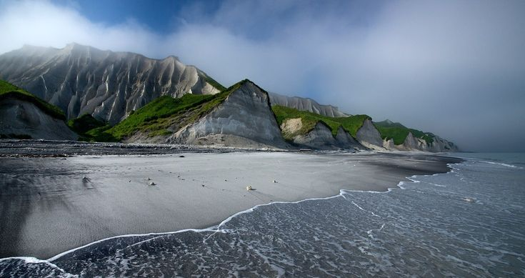 The White Cliffs of Iturup. Russia