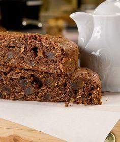 Υγρό κέικ σοκολάτας με τζίντζερ